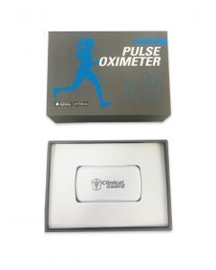 Clinical Guard Smart Pulse Oximeter for iPhone, iPad, Android